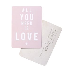 All you need is love rose poudré DIVERSALLLOVE