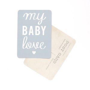 My Baby love bleu gris  DIVERSMBLOVE